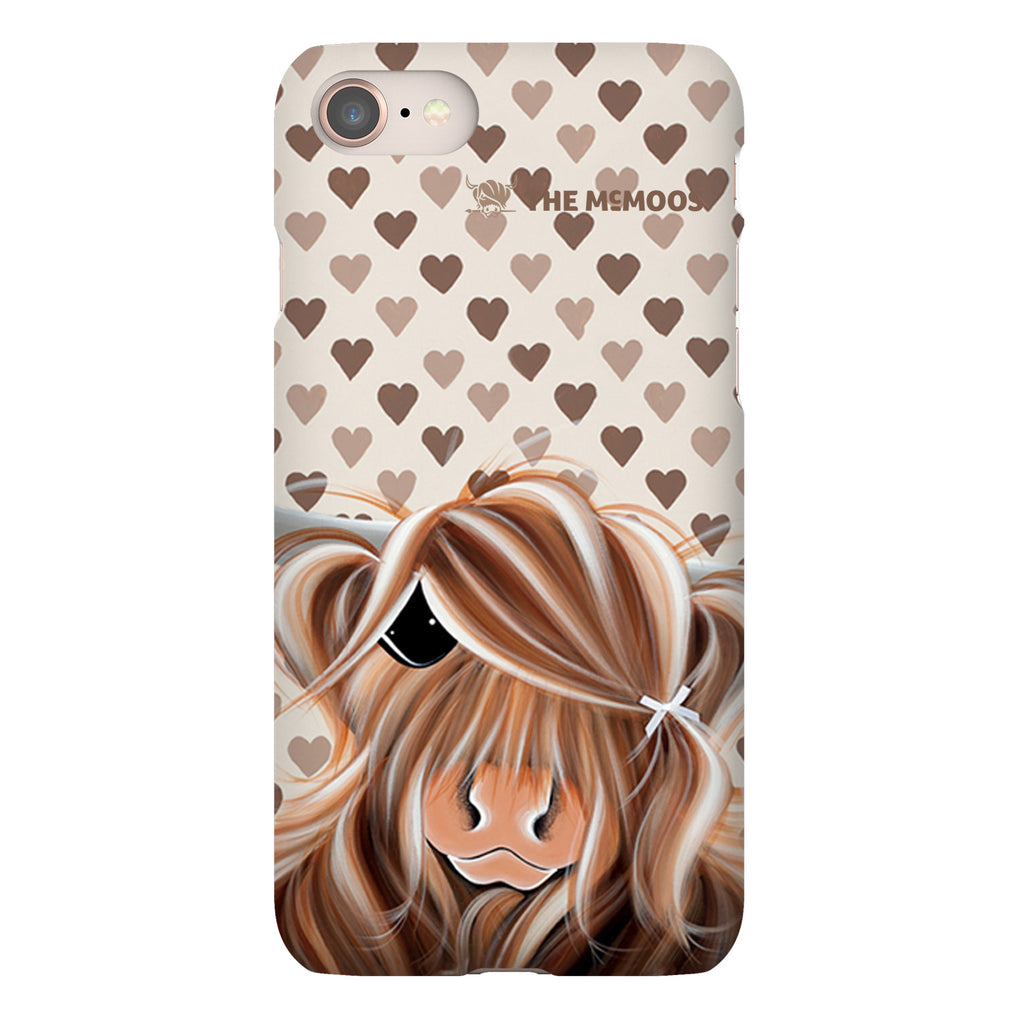 Jennifer Hogwood, The McMoos, I Love Moo - Snap Phone Case