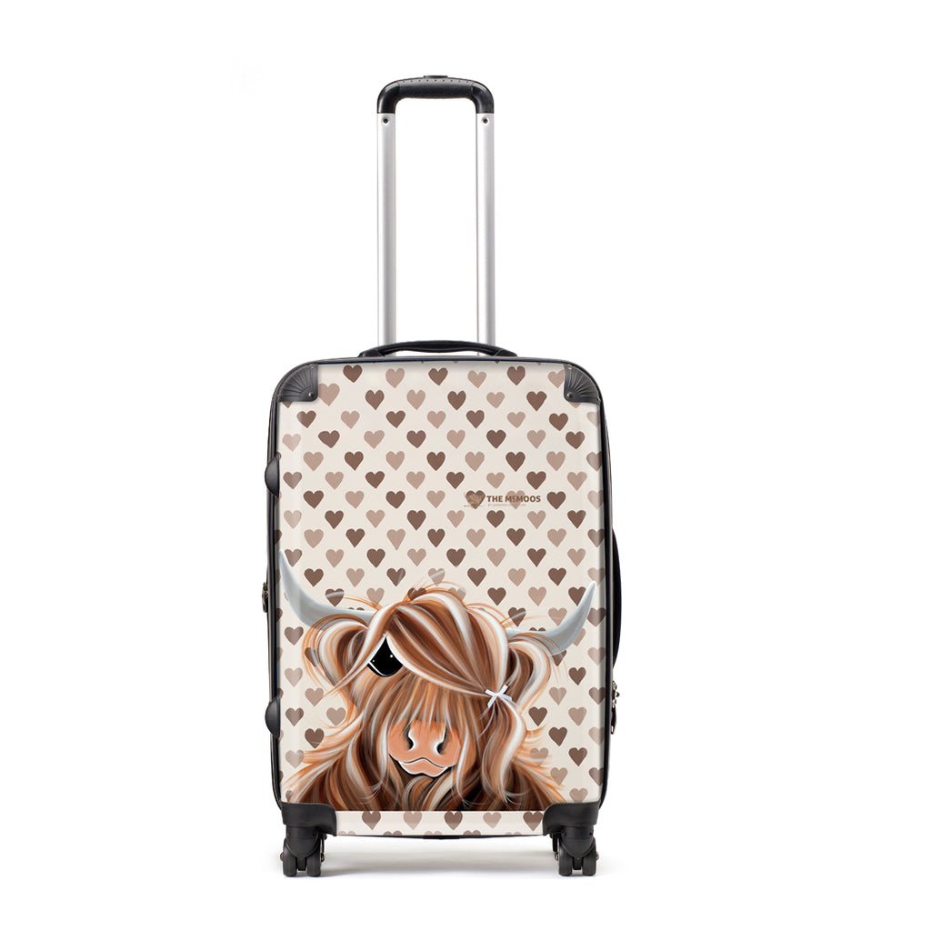 Jennifer Hogwood, The McMoos, I Love Moo - Large Suitcase