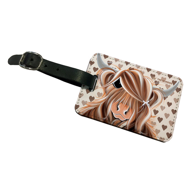 Jennifer Hogwood, The McMoos, I Love Moo - Luggage Tag