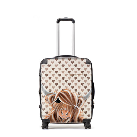 Jennifer Hogwood, The McMoos, I Love Moo - Medium Suitcase