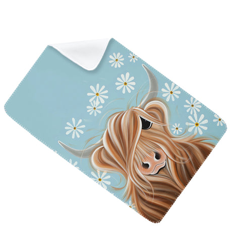 Jennifer Hogwood, The McMoos, Little Miss Daisy - Fleece Blanket