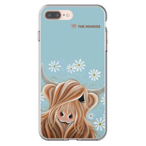 Jennifer Hogwood, The McMoos, Little Miss Daisy - Flexi Phone Case