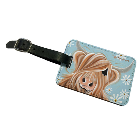 Jennifer Hogwood, The McMoos, Little Miss Daisy - Luggage Tag