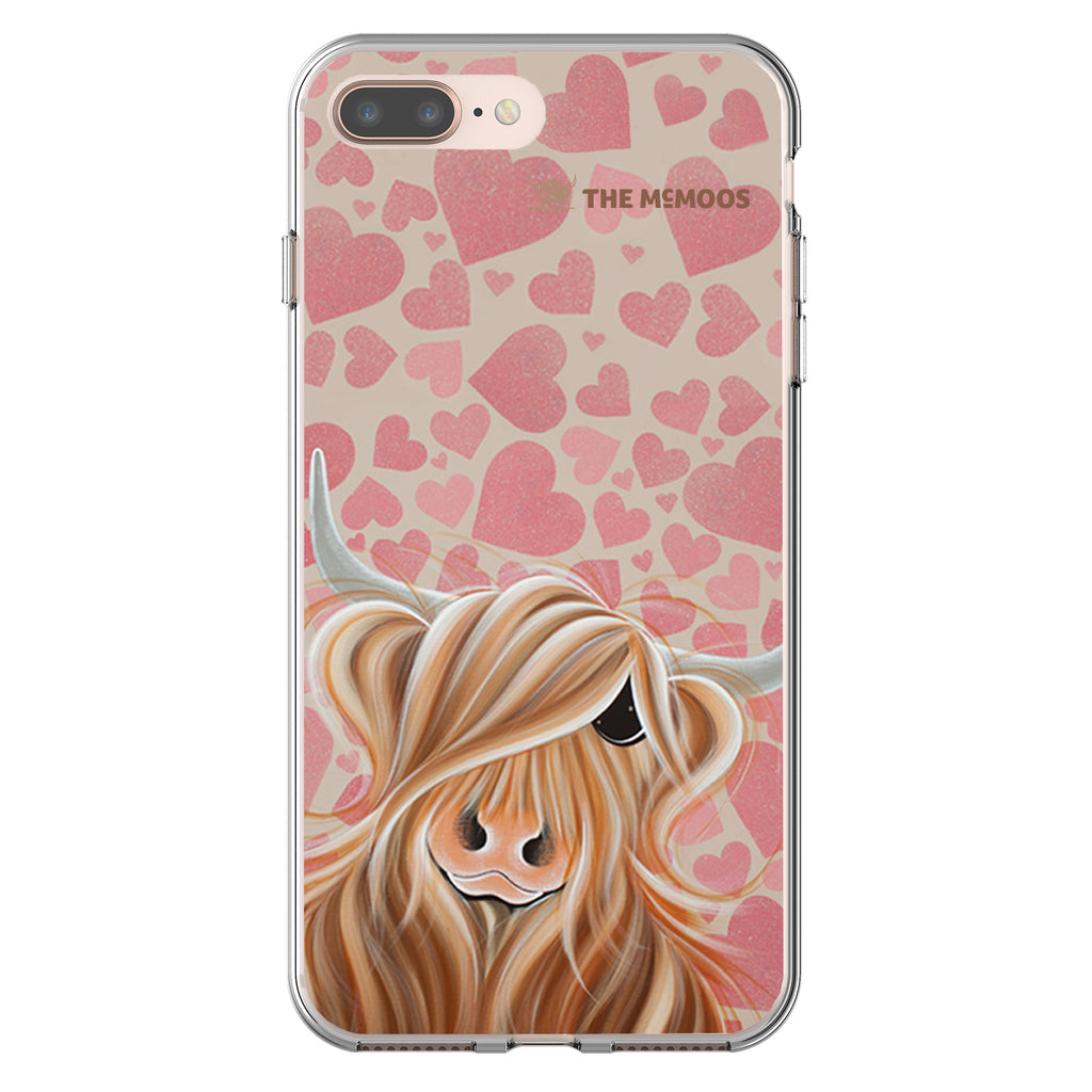 Jennifer Hogwood, The McMoos, Little Miss Love - Flexi Phone Case