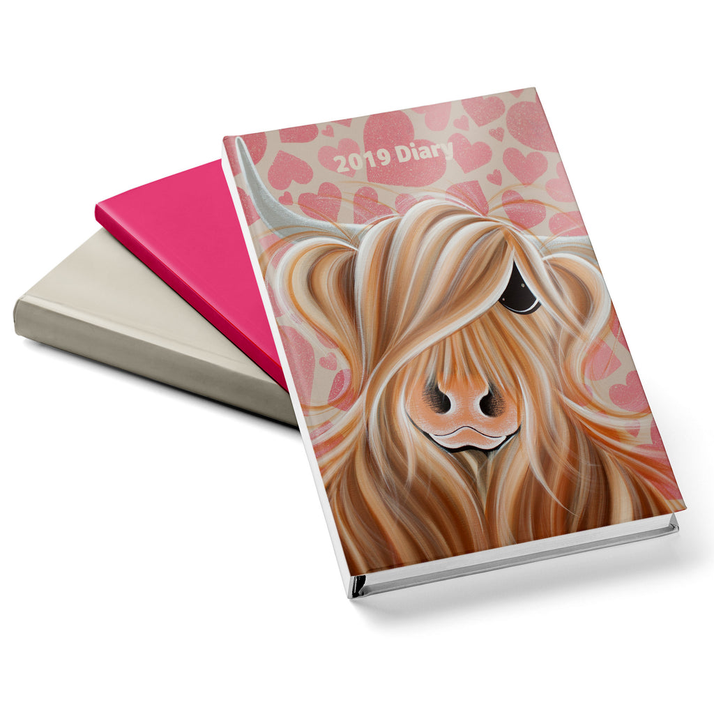 Jennifer Hogwood, The McMoos, Little Miss Love - 2019 Diary