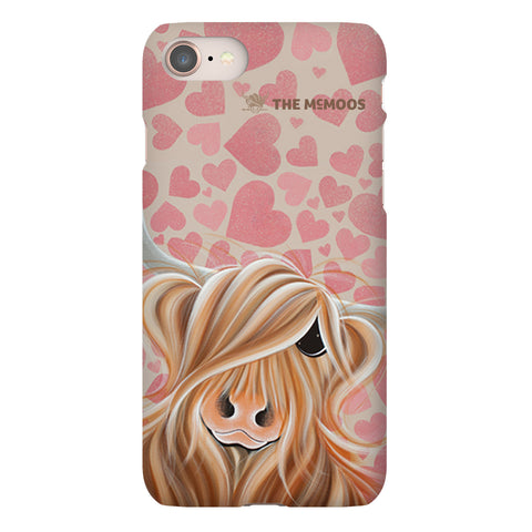 Jennifer Hogwood, The McMoos, Little Miss Love - Snap Phone Case