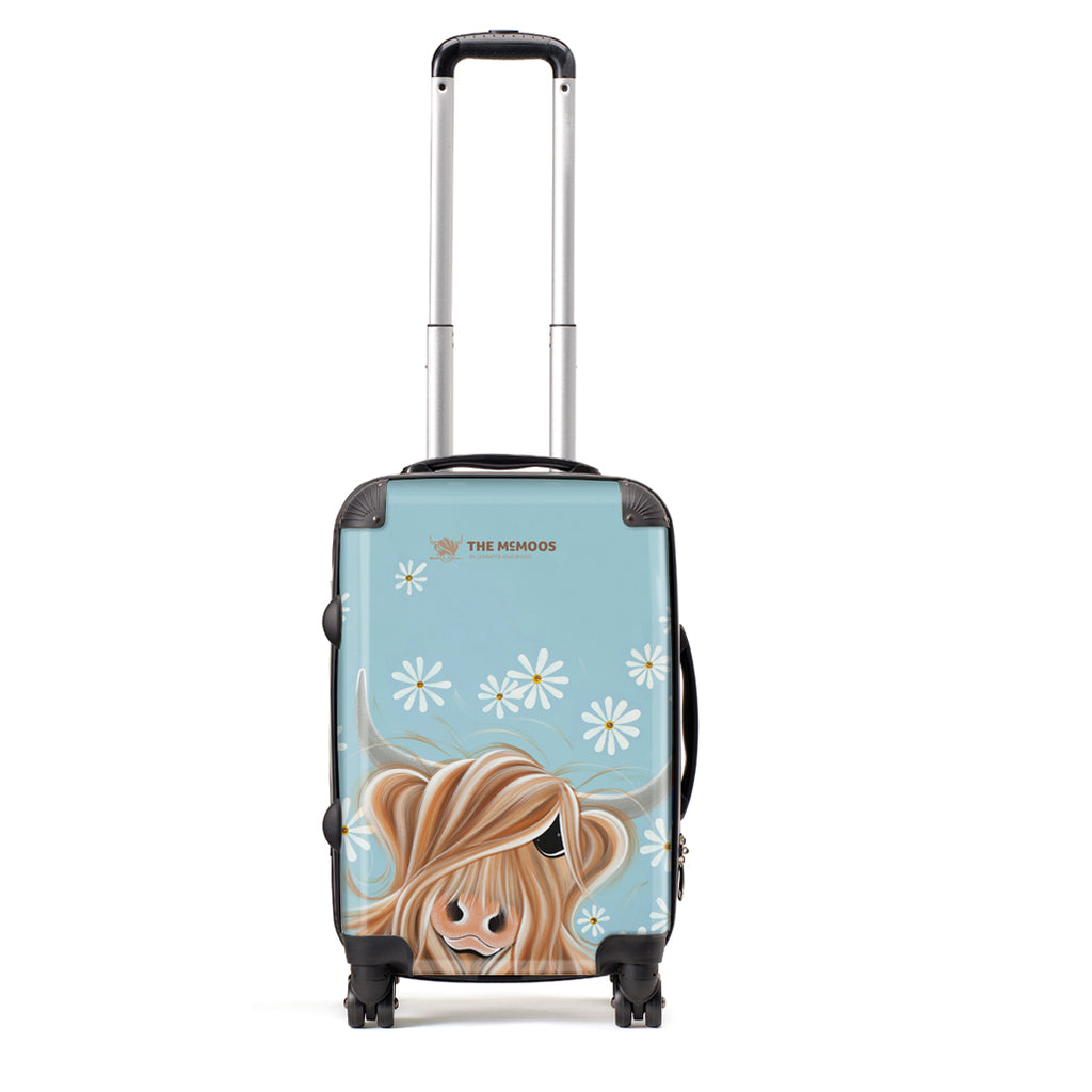 Jennifer Hogwood, The McMoos, Little Miss Daisy - Small Suitcase (Cabin)
