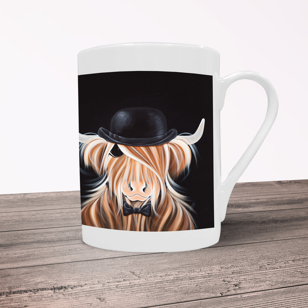 Jennifer Hogwood, The McMoos, McBeau - Porcelain Mug