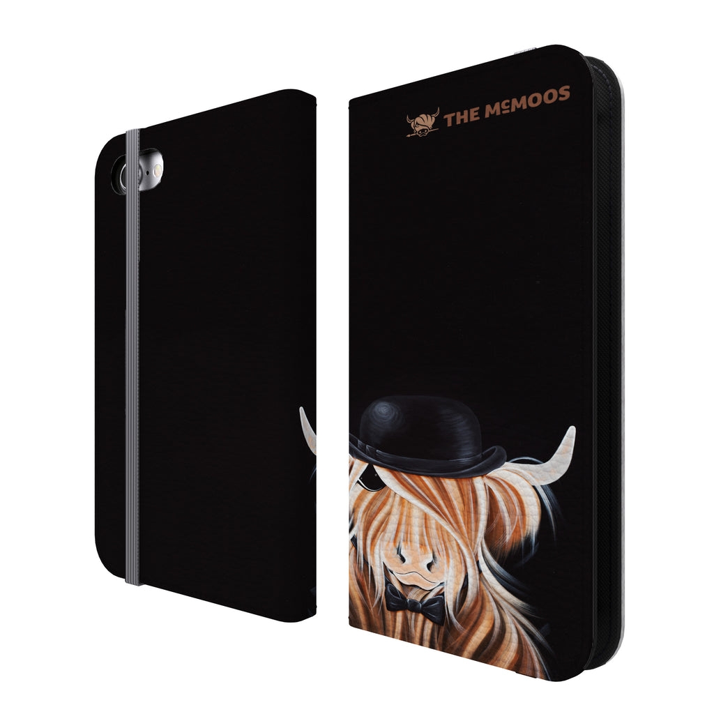 Jennifer Hogwood, The McMoos, McBeau - Folio Wallet Phone Case