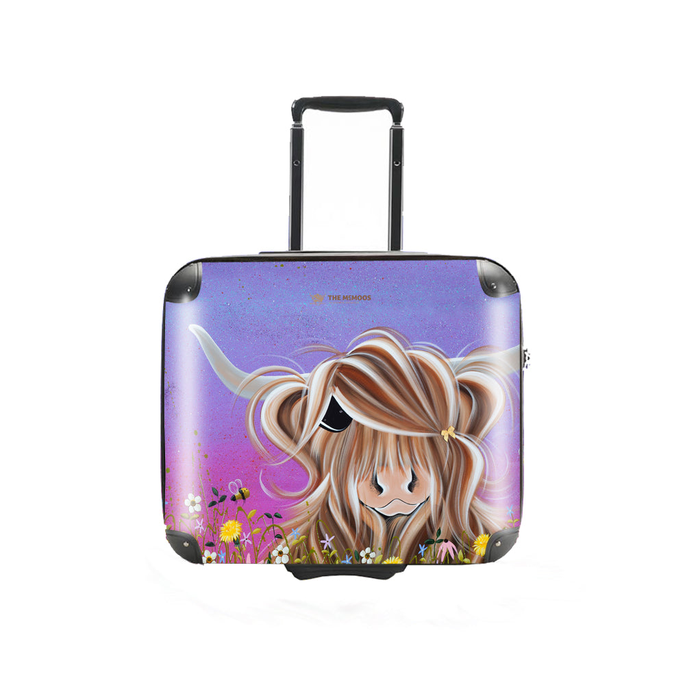 Jennifer Hogwood, The McMoos, Moo On A Summers Evening - Business Suitcase (Overnight)