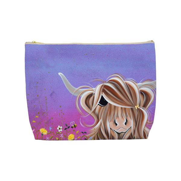 Jennifer Hogwood, The McMoos, Moo On A Summers Evening - Makeup / Wash Bags
