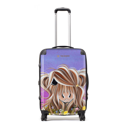 Jennifer Hogwood, The McMoos, Moo On A Summers Evening - Medium Suitcase