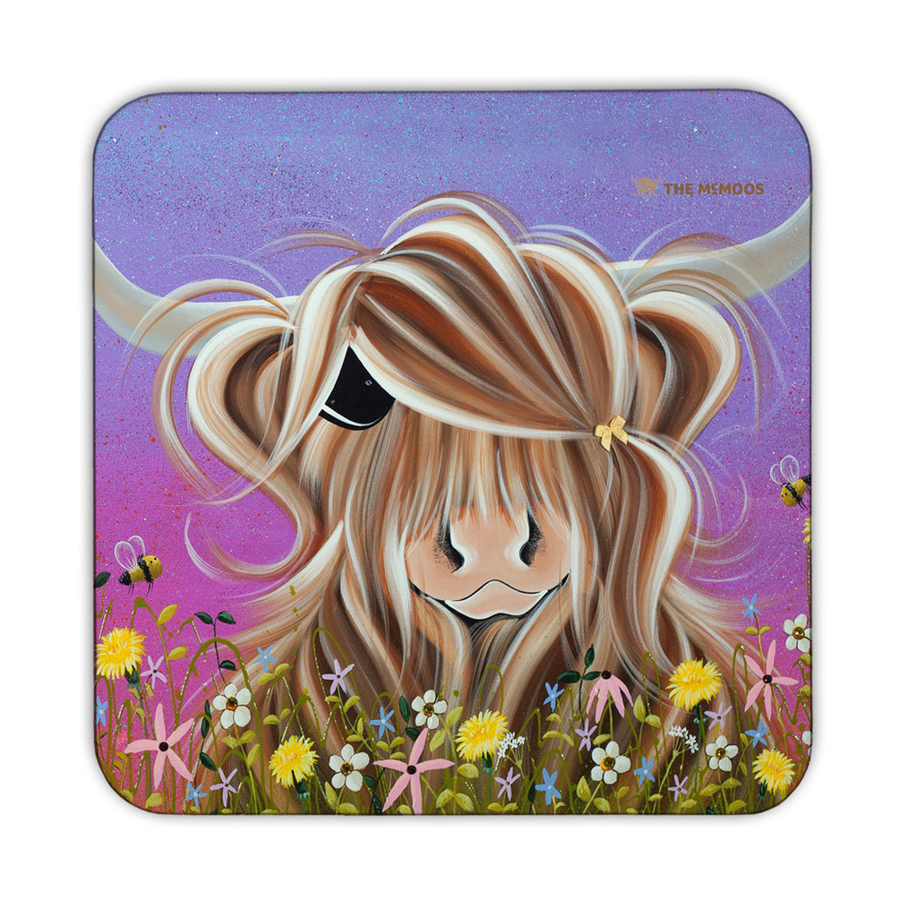 Jennifer Hogwood, The McMoos, Moo On A Summers Evening - Coasters