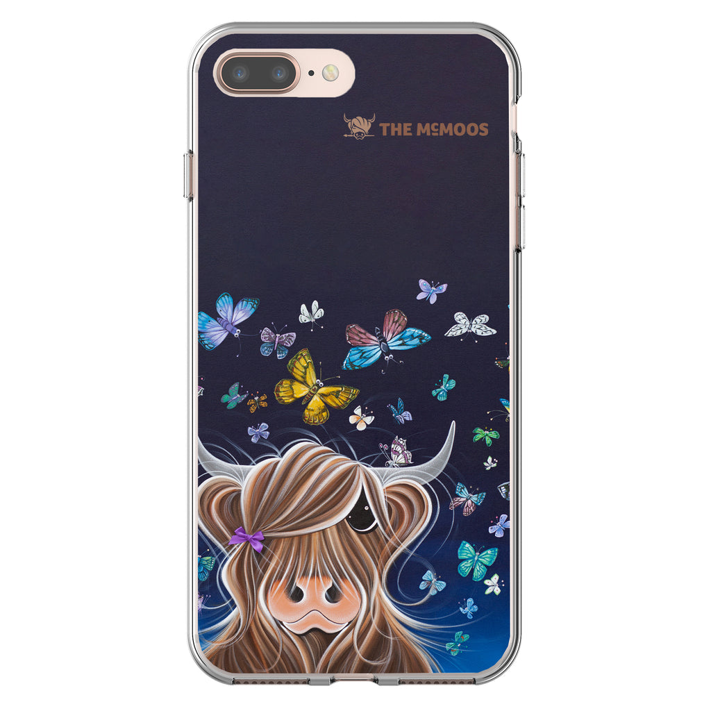 Jennifer Hogwood, The McMoos, Night Flight - Flexi Phone Case