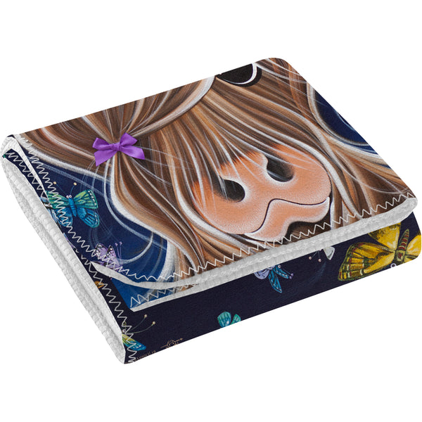 Jennifer Hogwood, The McMoos, Night Flight - Fleece Blanket
