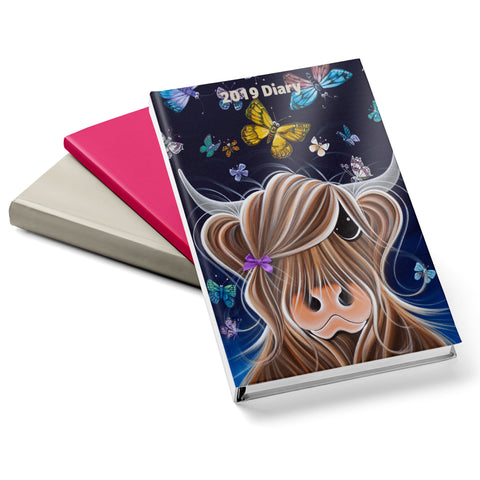 Jennifer Hogwood, The McMoos, Night Flight - 2019 Diary