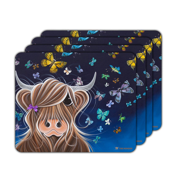 Jennifer Hogwood, The McMoos, Night Flight - Placemats