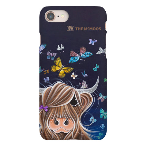 Jennifer Hogwood, The McMoos, Night Flight - Snap Phone Case