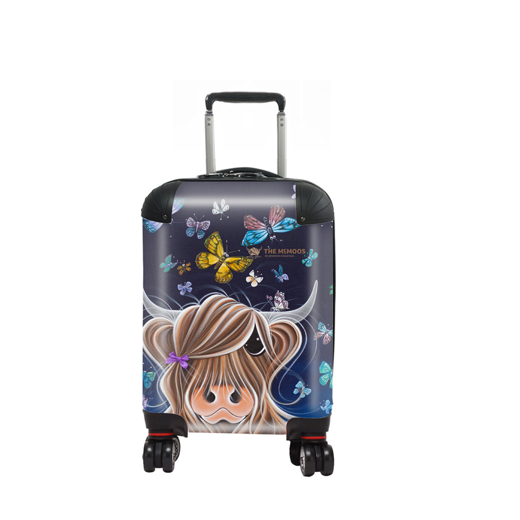 Jennifer Hogwood, The McMoos, Night Flight - Kids Suitcase