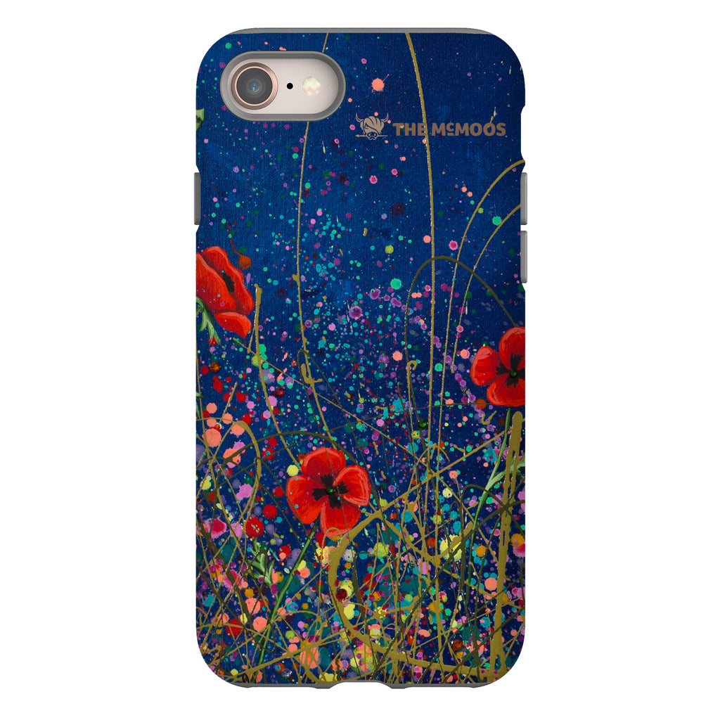 Jennifer Hogwood, The McMoos, Poppy Evening - Tough Phone Case