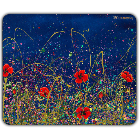 Jennifer Hogwood, The McMoos, Poppy Evening - Placemats