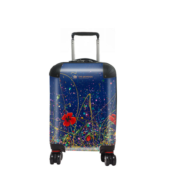 Jennifer Hogwood, The McMoos, Poppy Evening - Kids Suitcase
