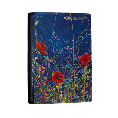 Jennifer Hogwood, The McMoos, Poppy Evening - Passport Cover