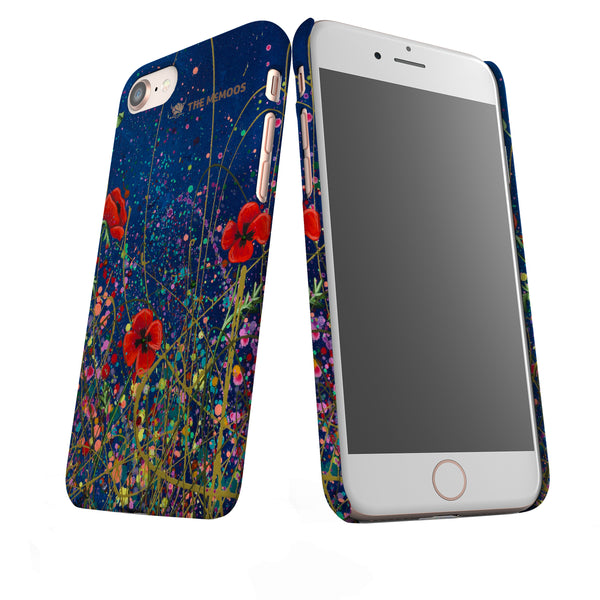 Jennifer Hogwood, The McMoos, Poppy Evening - Snap Phone Case