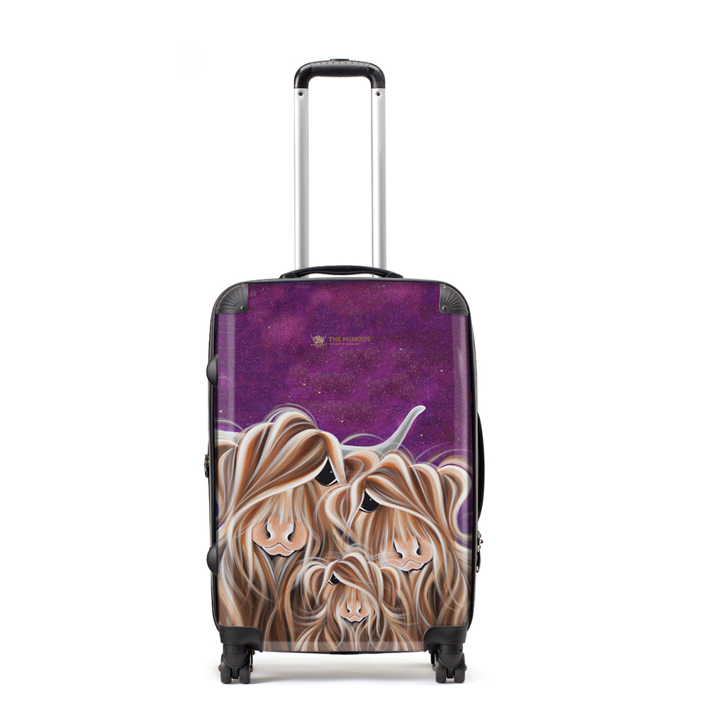 Jennifer Hogwood, The McMoos, Stars In The Highland - Large Suitcase