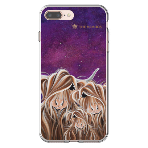 Jennifer Hogwood, The McMoos, Stars In The Highland - Flexi Phone Case