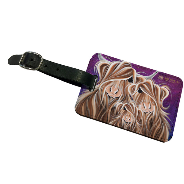 Jennifer Hogwood, The McMoos, Stars In The Highland - Luggage Tag