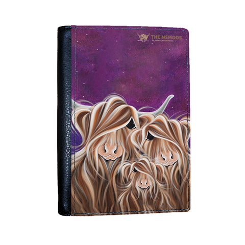 Jennifer Hogwood, The McMoos, Stars In The Highland - Passport Cover