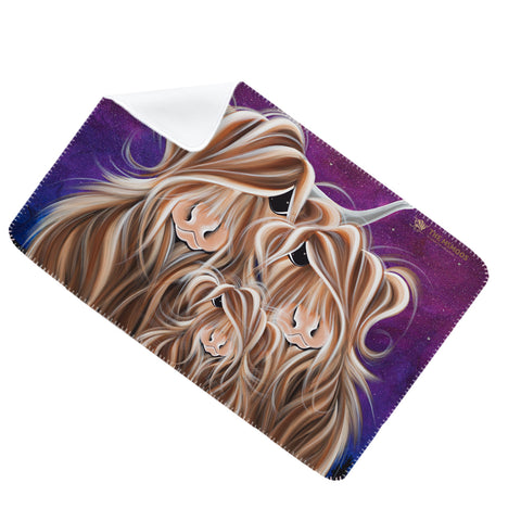 Jennifer Hogwood, The McMoos, Stars In The Highland - Fleece Blanket