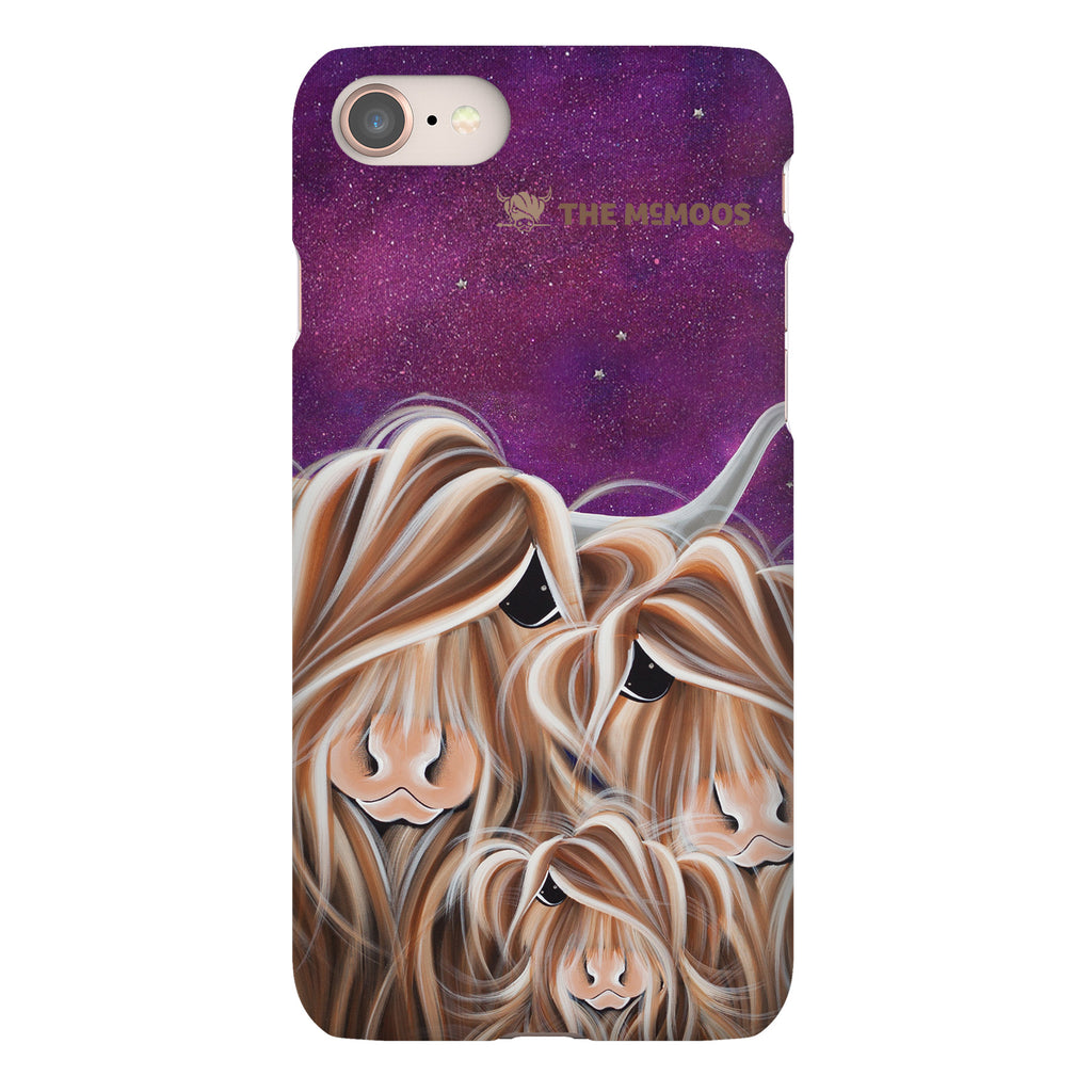 Jennifer Hogwood, The McMoos, Stars In The Highland - Snap Phone Case