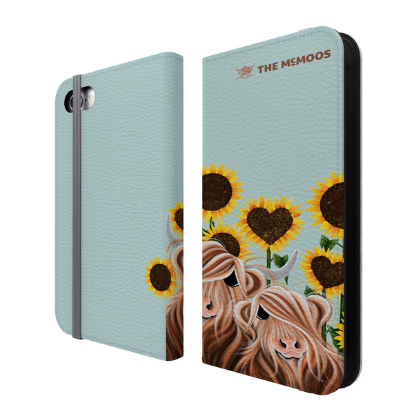 Jennifer Hogwood, The McMoos, Sunshine Of My Life - Folio Wallet Phone Case