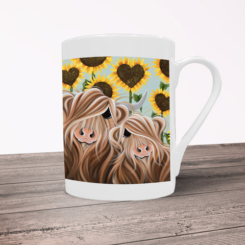 Jennifer Hogwood, The McMoos, Sunshine Of My Life - Porcelain Mug