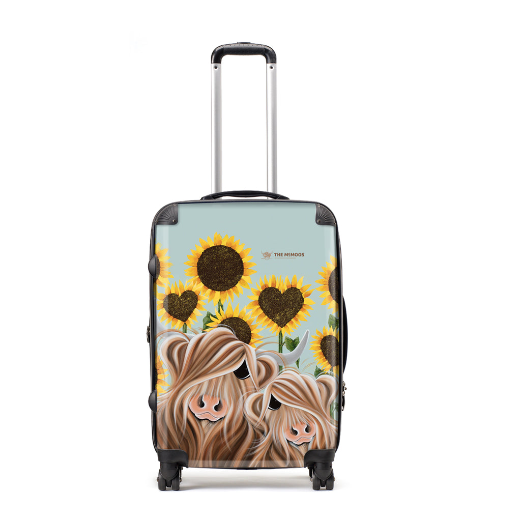 Jennifer Hogwood, The McMoos, Sunshine Of My Life - Large Suitcase