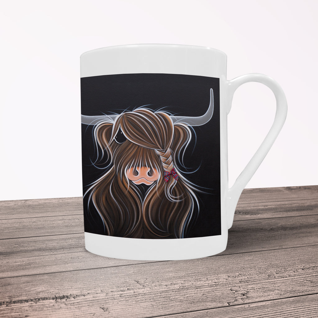 Jennifer Hogwood, The McMoos, Tied To My Clan - Porcelain Mug