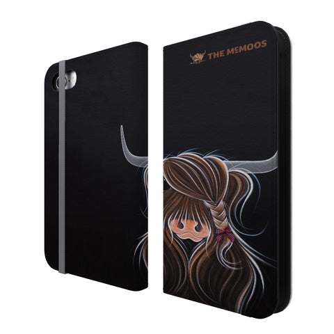 Jennifer Hogwood, The McMoos, Tied To My Clan - Folio Wallet Phone Case