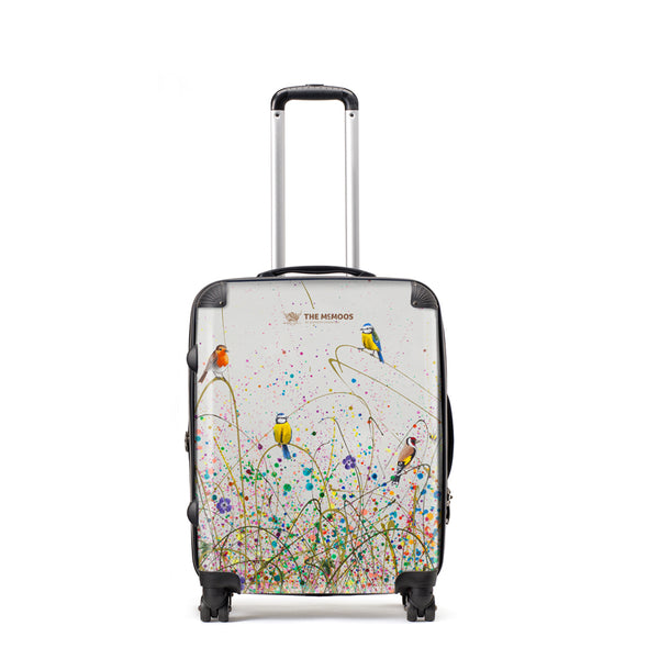 Jennifer Hogwood, The McMoos, Wild Meadow - Medium Suitcase