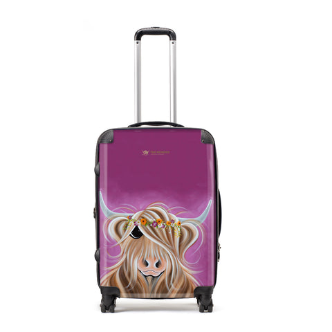 Jennifer Hogwood, The McMoos, Beatrice - Large Suitcase