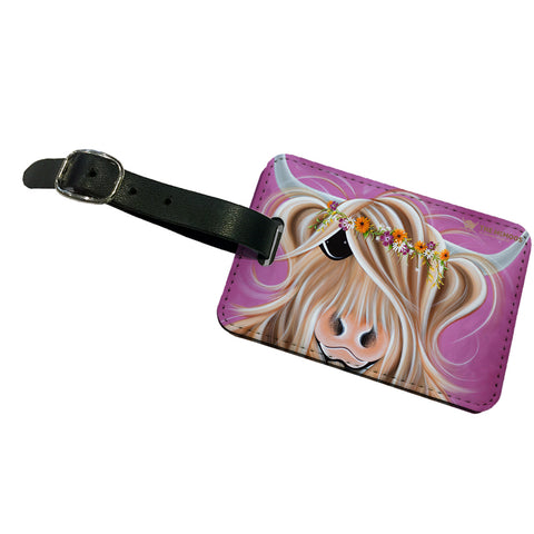 Jennifer Hogwood, The McMoos, Beatrice - Luggage Tag