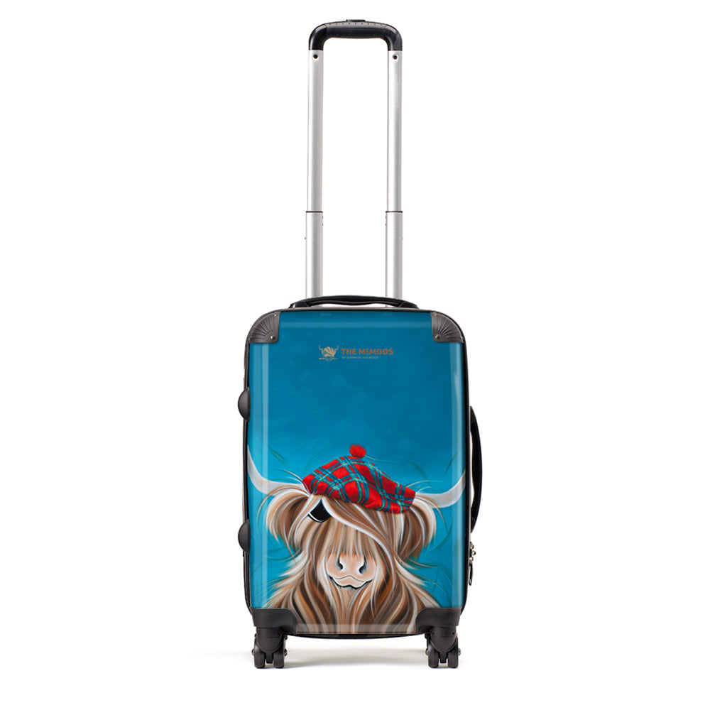 Jennifer Hogwood, The McMoos, Clyde - Small Suitcase (Cabin)