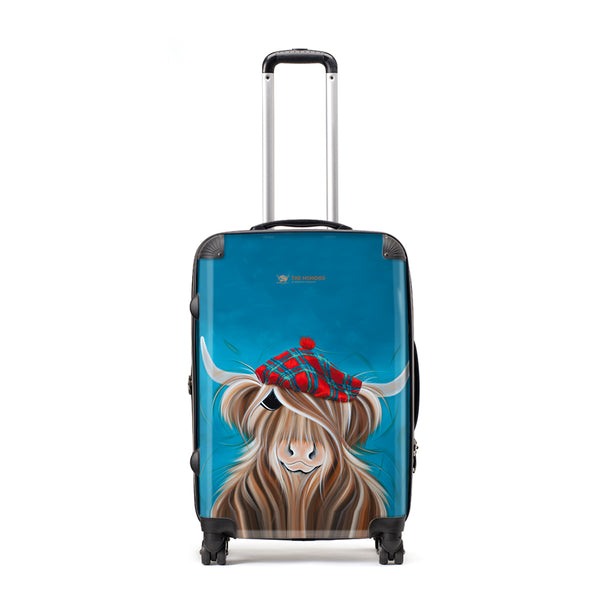 Jennifer Hogwood, The McMoos, Clyde - Large Suitcase