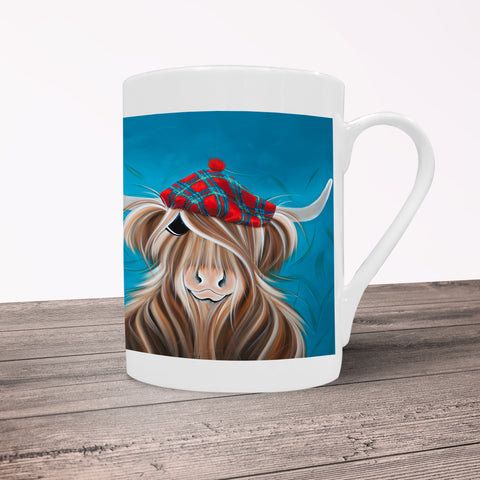 Jennifer Hogwood, The McMoos, Clyde - Porcelain Mug
