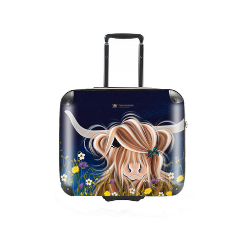 Jennifer Hogwood, The McMoos, Evening Highland - Business Suitcase (Overnight)