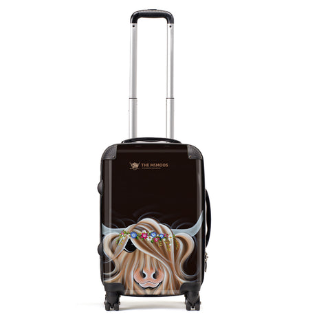 Jennifer Hogwood, The McMoos, Flora - Small Suitcase (Cabin)