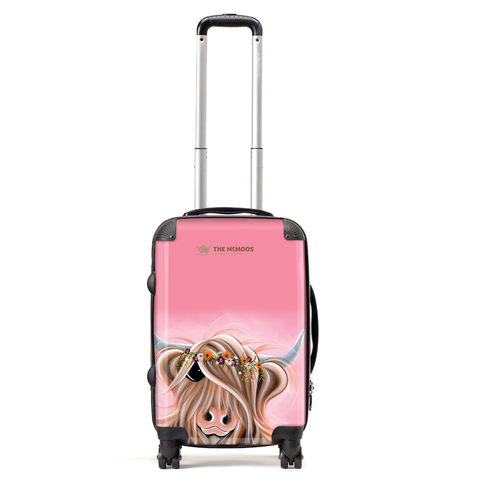 Jennifer Hogwood, The McMoos, Flower Girl - Small Suitcase (Cabin)