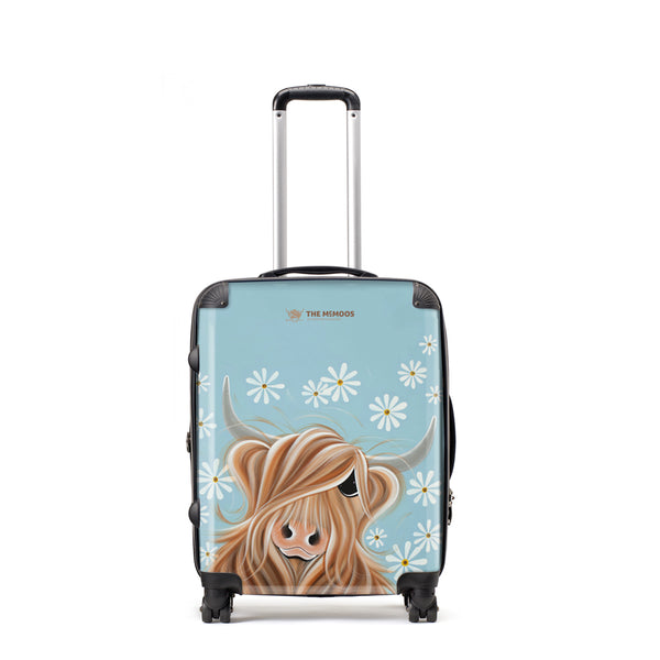 Jennifer Hogwood, The McMoos, Little Miss Daisy - Medium Suitcase