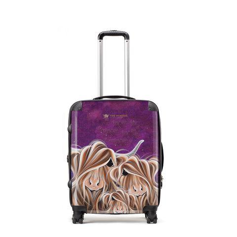 Jennifer Hogwood, The McMoos, Stars In The Highland - Medium Suitcase